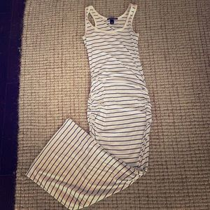 Victoria Secret Striped Maxi T-Shirt Dress